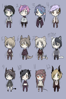 Mix Adopts- CLOSED by Vesodopt