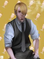 Sanji by Ocetee