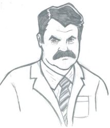 Ron Swanson by sketchbrooks