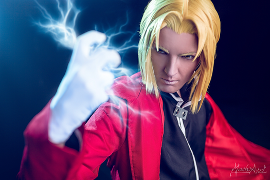 Edward Elric FMA by Misch.Axel by MischievousBoyAilime