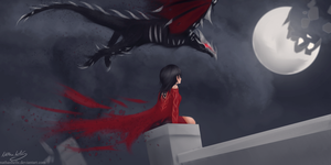 Cinder fall by nathanhells