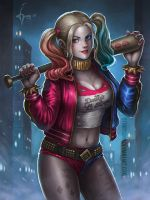 Harley Quinn by denn18art