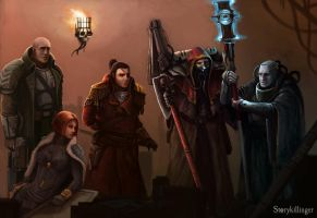 Rogue Trader Crew by StoryKillinger