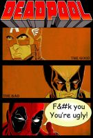 Deadpool:The Good, The Bad, and The Ugly by Ari-Spike-Nadelman