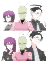 [ Invader ZIM ] Many Years Later.. by bowchickabowow