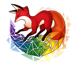 Foxy Pride by eychanchan