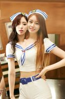 Jiyeon and Eunjung conjoined by PoliceBrutality