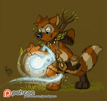 Spell caster by pandapaco