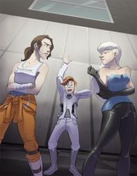 Portal 2 by crumblygumbly