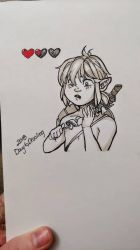 Inktober 2018 Day Six: Drooling by Risika93