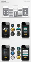 iPhone Game App UI by amynsattani