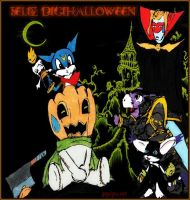 Happy DigiHalloween 2012 by Zeromaru-x