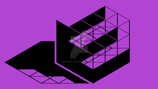 Cube Logo Concept svg by MoeRBLX