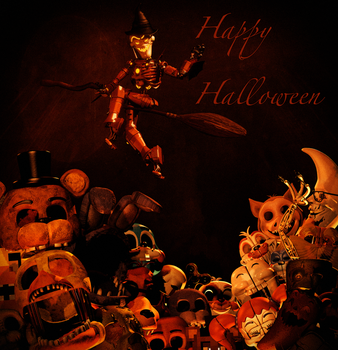 Happy Halloween!+ Withered Freddy Release [FIXED] by CoolioArt