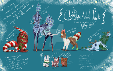 Holiday Adopts Pack OPEN by Dragon-Eternal