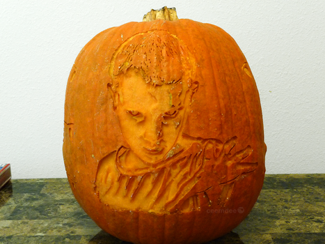 Stranger Things Pumpkin 3 by ceemdee