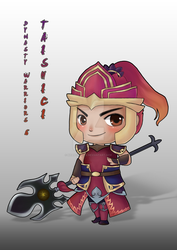 Chibi Taishici(Dynasty Warriors 6) by Nhan-SnakeX