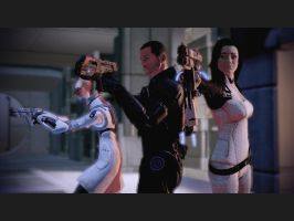 Mass Effect 2 Standoff by Homicide-Crabs
