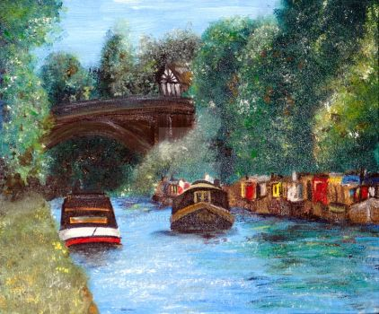 A Cheshire Canal Remembered by 1stAngel