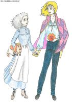 Howl and Sophie - Howl's moving castle by Elena89Hikari