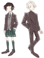 Pansy and Draco by lulushu