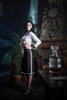 Bioshock Burial at sea by Shinkarchuk
