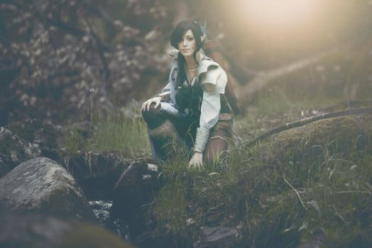Critical Role- Vex 5 by InhumanSandwiches