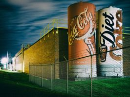 Coca-Cola Bottling Company (Visible Light) by KBeezie