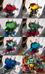 Homestuck: Some Scalemates by TrollkaRuby