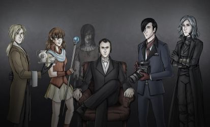 Painter and Friends - The RP Squad by ZerachielAmora