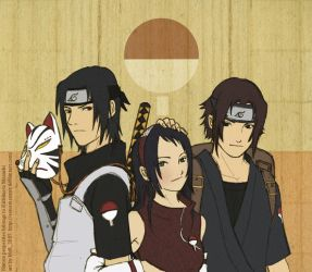 The Uchiha Siblings by sorceressmyr