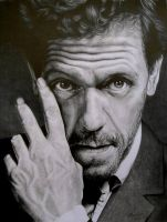 Hugh Laurie by LochaSnejpa