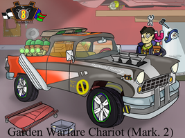 The Garden Warfare Chariot (Mark 2) by Nyanbonecrush