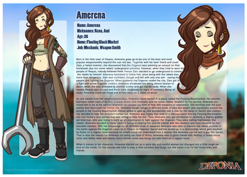 Deponia: Amerena Orzola by Berylunee