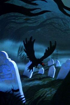 Sleepy Hollow Graveyard Home Screen WP by Captain-Halfbeard