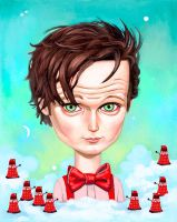 Doctor Who by asterozea