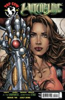 Witchblade 99 - cover by AdrianaMelo