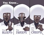 The Bleeps, The Sweeps, and The Creeps! by Stnk13