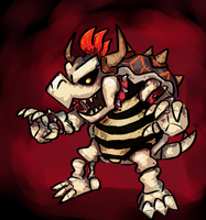 Dry Bowser by RadicalGator