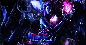 Morgana - League of Legends by RodTheSecond