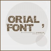 Orial_Font by SoGoddess