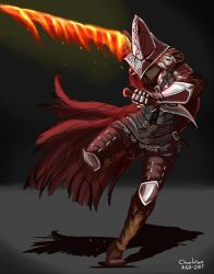 Commission: Abyss Watchers by Charleian