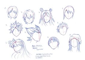 Reference_Sheet:Hair_13_10_2014 by RemiLatour