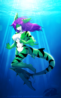 Lady of the Deep by yamer