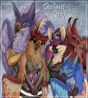 Deviant Gryphs by Chaluny