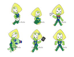 Little Peridots by carolroda6
