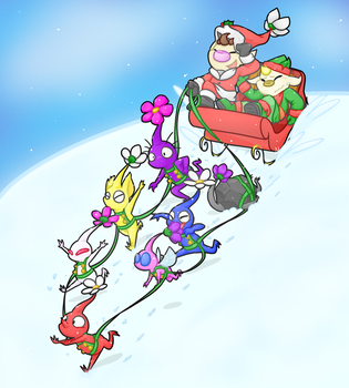 Dashing Through The Snow by Shae-Butter