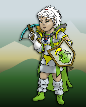 My RS Character Toon-Style by don18lee
