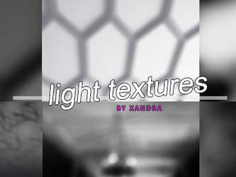 Pack 1: Light Textures by tardisxblue