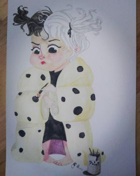 Young Cruella de Ville by britishrebel04